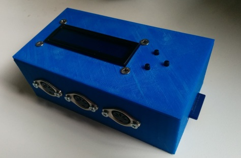 The final printed enclosure